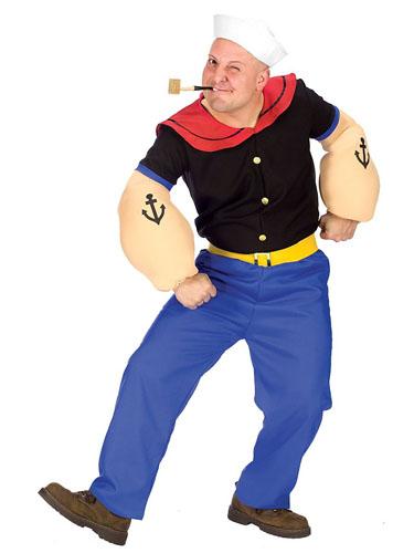Popeye Kostüm Erwachsene