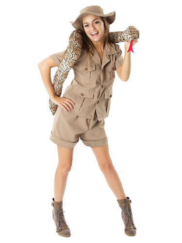 Safari Dschungel Kostüm Damen