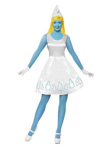 Schlumpfine Kostüm Damen