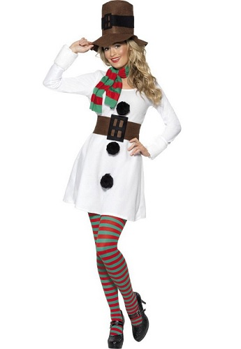 Schneemann Kostüm Damen