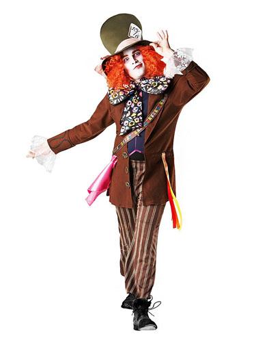 Verrückter Hutmacher Kostüm Herren