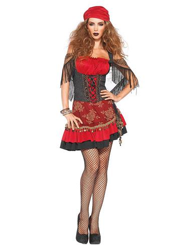 Wahrsagerin Kostüm Zigeunerkostüm Damen