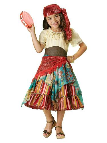 Wahrsagerin Kostüm Zigeunerkostüm Kinder