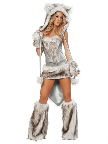 Wolf Kostüm Damen