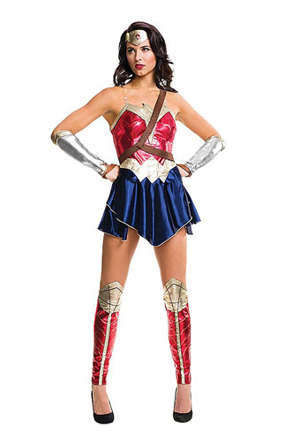 Wonder Woman Kostüm Damen
