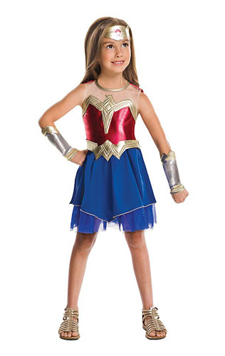 Wonder Woman Kostüm Kinder