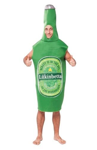 Bierflasche Kostüm Heineken