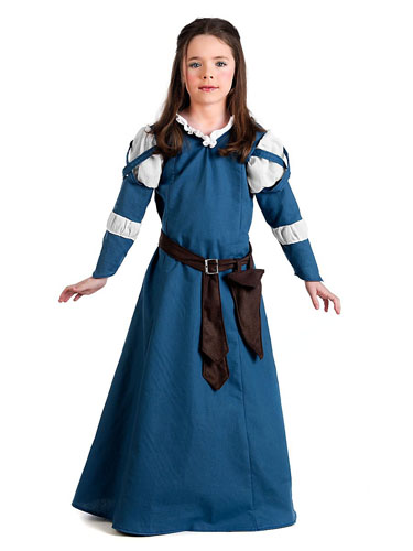 Burgfräulein Kostüm Kinder