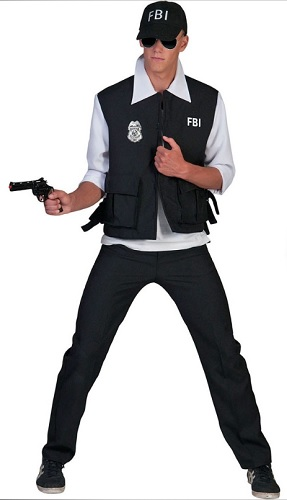 FBI Kostüm Herren