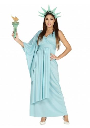 Freiheitsstatue Kostüm Damen