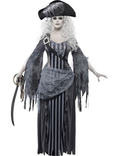Geist Gespenst Kostüm Damen