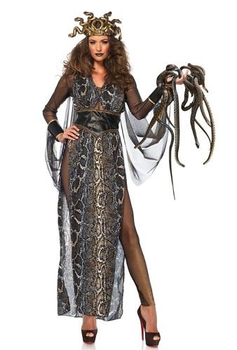 Medusa Kostüm erwachsene Damen