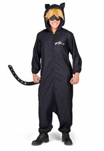 Miraculous Cat Noir Kostüm erwachsene Herren