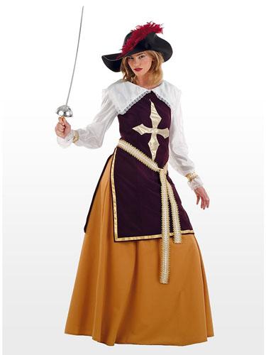 Musketier Kostüm Damen