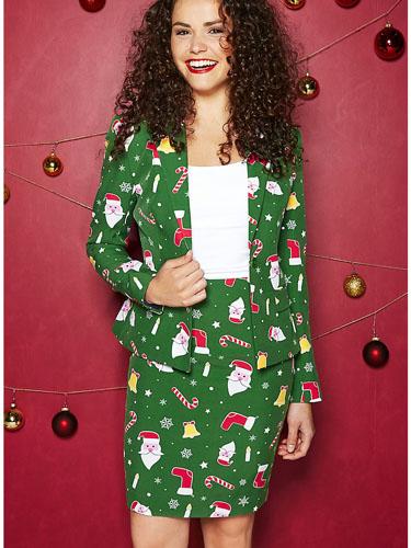 Opposuits Anzug Damen Weihnachten