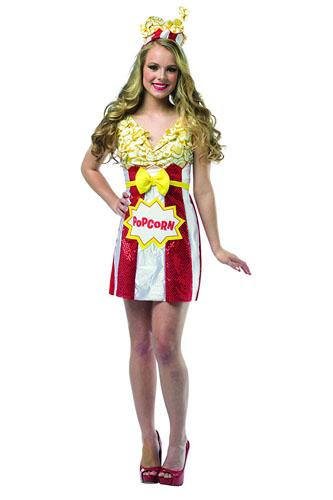 Popcorn Kostüm Damen