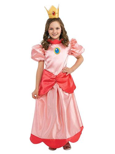 Prinzessin Peach Kostüm Kinder
