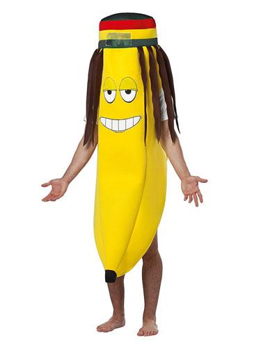 Rasta Bananenkostüm Erwachsene