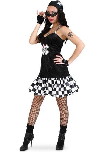 Rocker Kostüm Damen