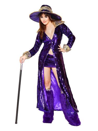 Zuhälter Kostüm Damen