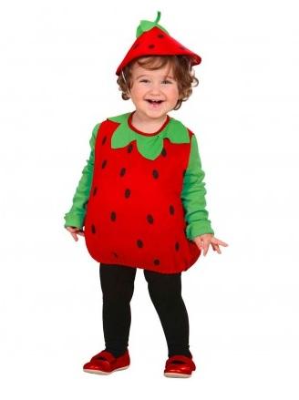 Erdbeerkostüm Kinder
