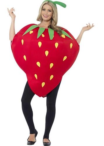 Erdbeerkostüm erwachsene Damen