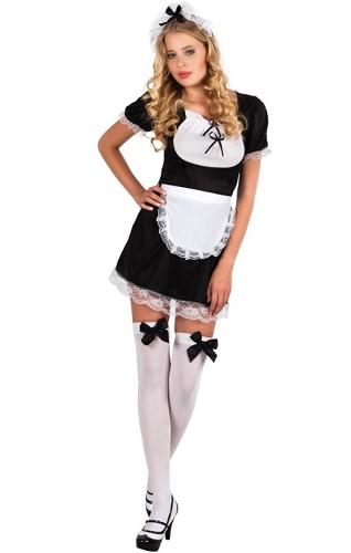 Hausmädchen Kostüm