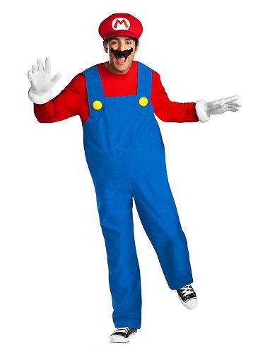 Mario Kart Kostüm Herren