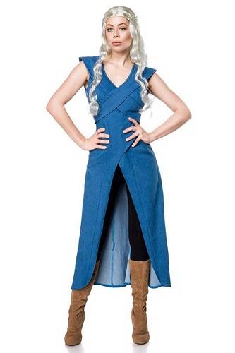 Daenerys Targaryen Kostüm blau