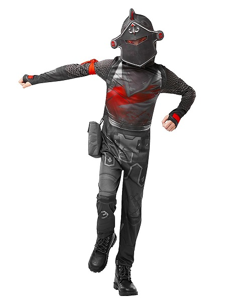 Fortnite Kostüm Kinder Jungen Mädchen Black Knight