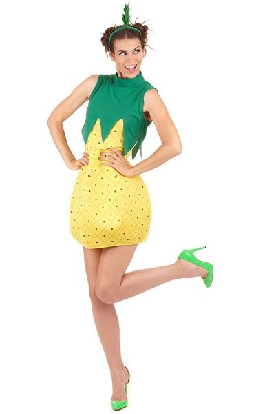 Ananas Kostüm Damen Frauen Erwachsene
