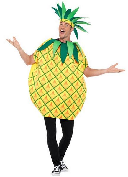 Ananas Kostüm Herren Männer Erwachsene