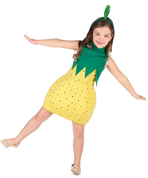 Ananas Kostüm Kinder Mädchen