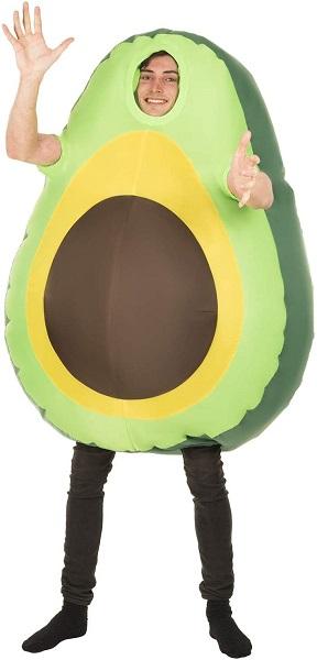 Avocado Kostüm Herren Männer Erwachsene