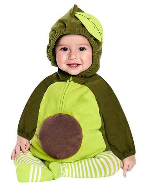 Avocado Kostüm Kinder Mädchen Jungen