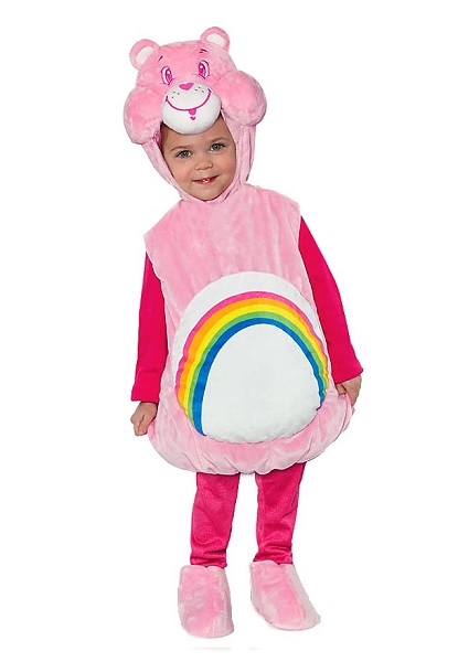 Glücksbärchis Kostüm Kinder Mädchen Jungen
