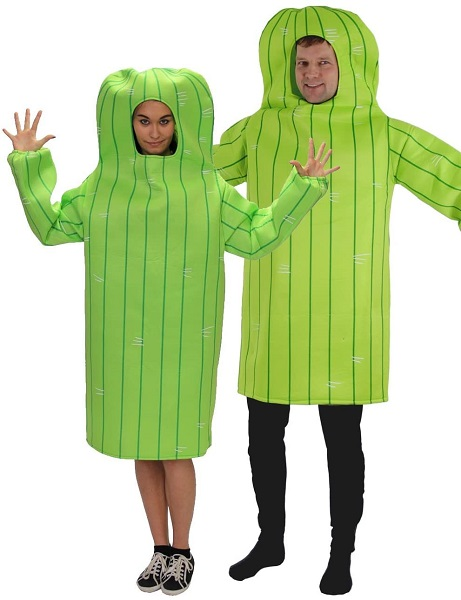 Kaktus Kostüm Damen Herren Erwachsene