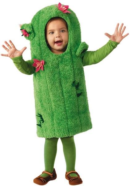 Kaktus Kostüm für Kinder Mädchen Jungen