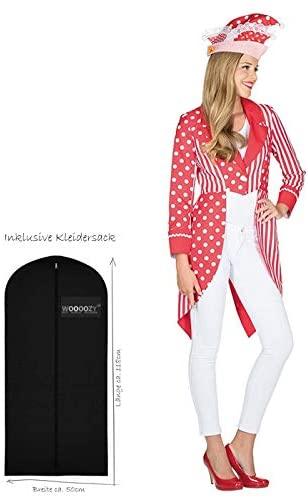 Karneval Kostüm Rot Weiß