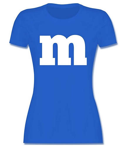 M&M Kostüm Damen selber machen