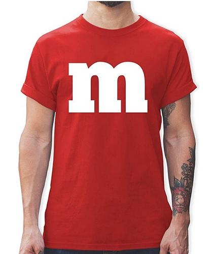 M&M Kostüm Herren selber machen
