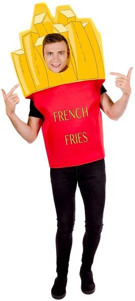 Pommes Kostüm