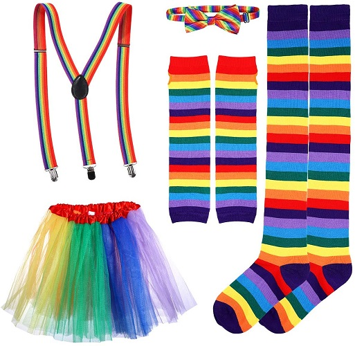 Regenbogen Kostüm