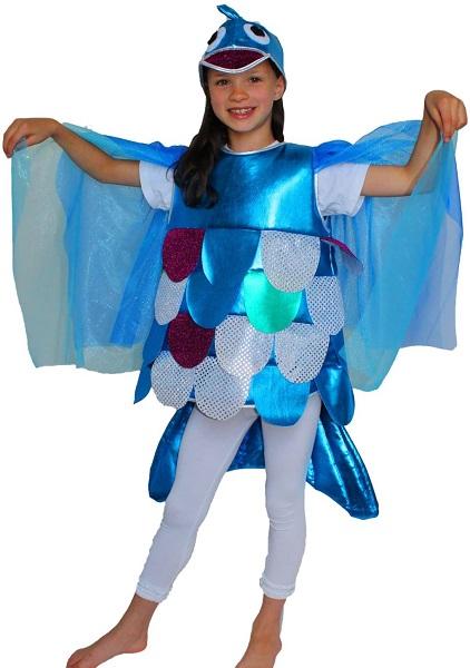 Regenbogenfisch Kostüm