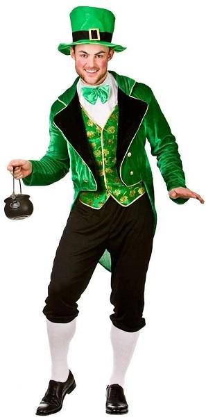 St Patricks Day Kostüm Leprechaun Kostüm