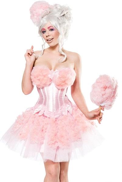 Zuckerwatte Kostüm