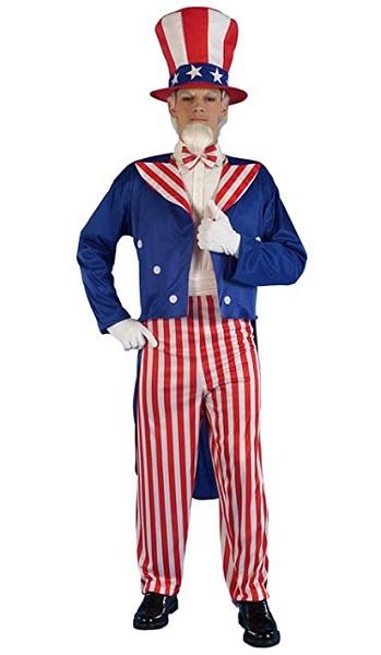 USA Kostüm Uncle Sam Kostüm